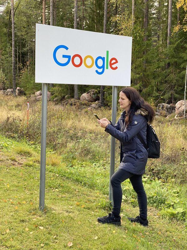 Googlen datakeskus ja Minna