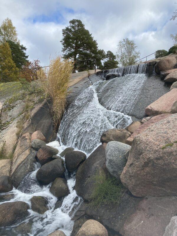 Sapokan vesipuiston vesiputous