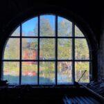 Strömforsin ruukin rakennuksen ikkuna