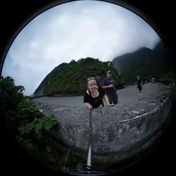 [Taiwan Taroko scenic view walkway]
