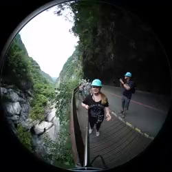 [Taiwan Taroko Gorge national park scenic walk]